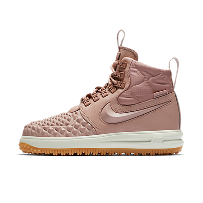 Nike Wmns Lunar Force 1 Duckboot (Particle Pink / Particle Pink - Blac productafbeelding