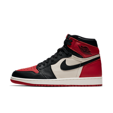 Air Jordan 1 Bred Toe productafbeelding