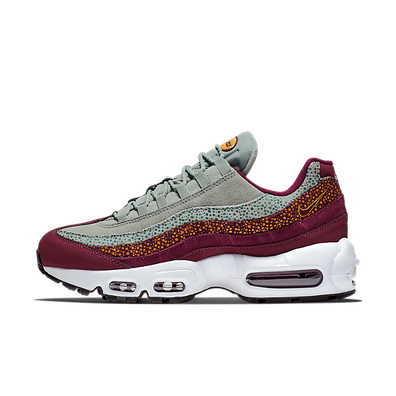 Nike Air Max 95 PRM Bordeaux / Yellow productafbeelding