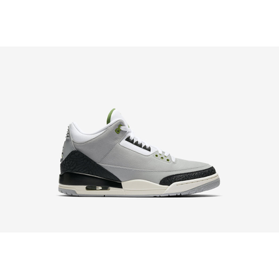 "Air Jordan 3 Retro (GS) ""Smoke Grey"" productafbeelding"