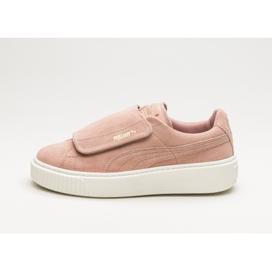 Puma Suede Platform Strap (Cameo Brown / Cameo Brown / Marshmallow) productafbeelding
