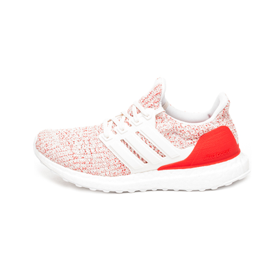 adidas Ultra Boost W (Core White / Core White / Active Red) productafbeelding