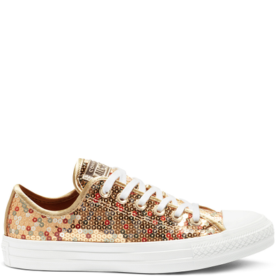 Converse Chuck Taylor All Star Holiday Scene Sequin Low Top productafbeelding