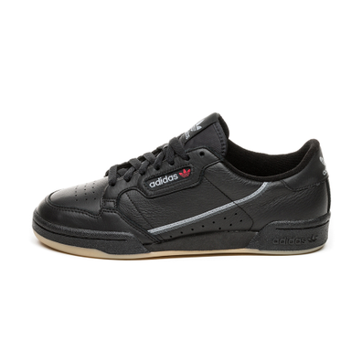 adidas Continental 80 (Core Black / Grey Three / Gum) productafbeelding