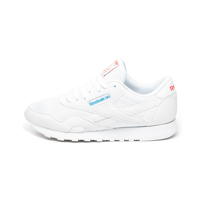 Reebok Classic Nylon TXT (White / California Blue / Neon Red) productafbeelding