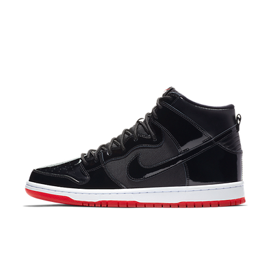 Nike SB Zoom Dunk High TR QS 'Bred' productafbeelding