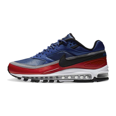 Nike Air Max 97/BW Royal Blue / Black / Red productafbeelding
