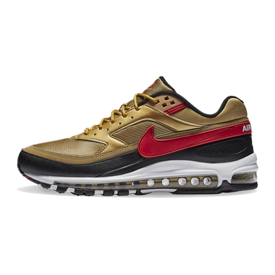 Nike Air Max 97/BW Metallic Gold / Red / White productafbeelding