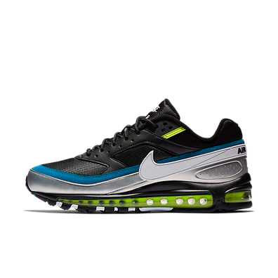 new arrival 7f878 0114d Nike Air Max 97 BW  Black Metallic Silver