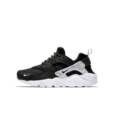 Nike Air Huarache Run SE GS - Black productafbeelding