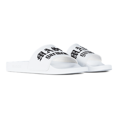 Mason Garments Slides - White productafbeelding