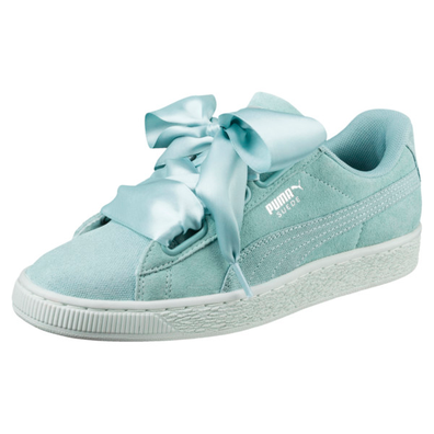 Puma Suede Heart Pebble Womens Trainers productafbeelding