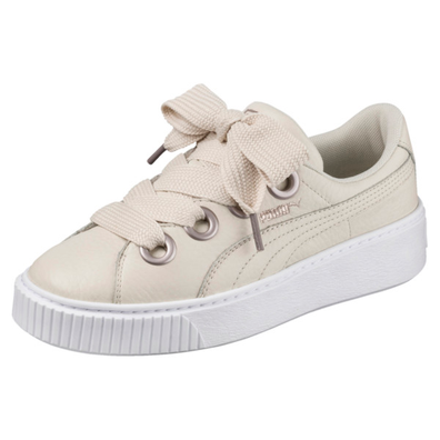 Puma Platform Kiss Leather Womens Trainers productafbeelding