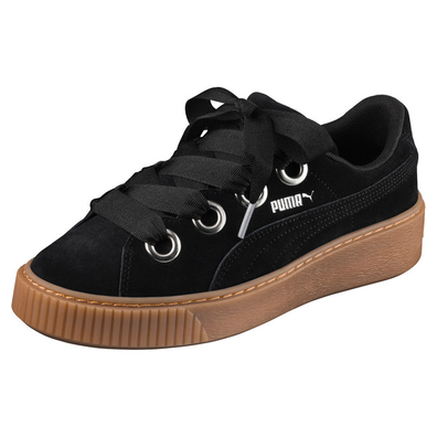 Puma Platform Kiss Suede Womens Trainers productafbeelding