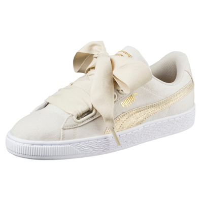Puma Basket Heart Canvas Womens Trainers productafbeelding