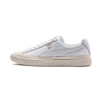 Puma Clyde Rubber Toe Leather Sneakers productafbeelding
