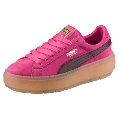 Puma Platform Trace Block Womens Trainers productafbeelding