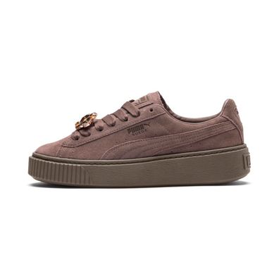 Puma Suede Platform Gem Womens Trainers productafbeelding