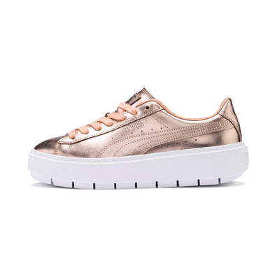 Puma Basket Platform Trace Luxe Womens Trainers productafbeelding