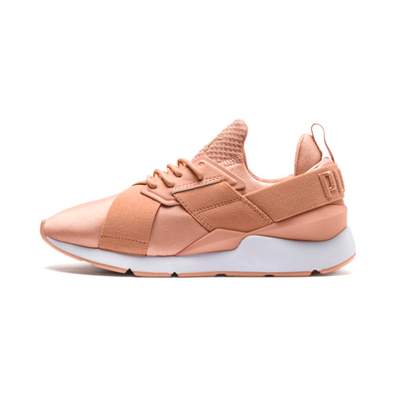 Puma En Pointe Muse Satin Womens Sneakers productafbeelding