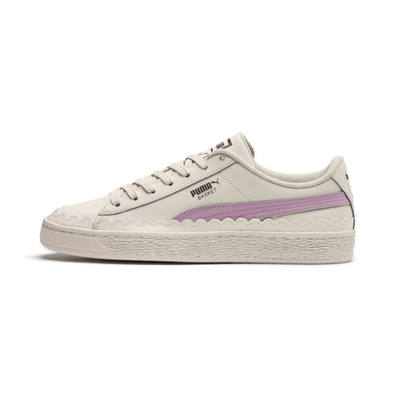Puma Basket Scallop Womens Trainers productafbeelding