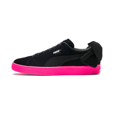 Puma Suede Bow Block Womens Trainers productafbeelding