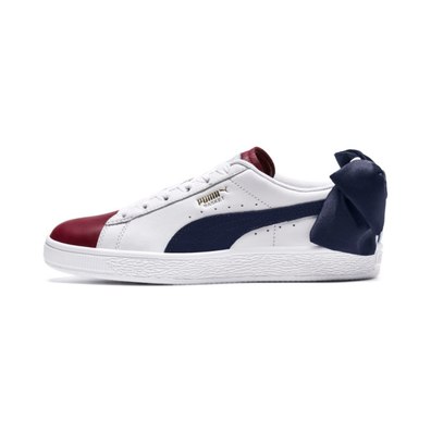 Puma Basket Bow New School Womens Trainers productafbeelding