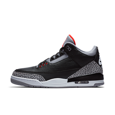 Air Jordan 3 'Black Cement' productafbeelding