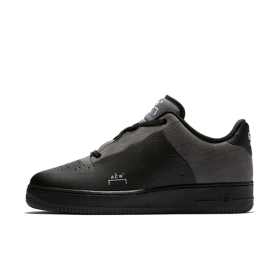 A-Cold-Wall X Nike Air Force 1 'Black' productafbeelding