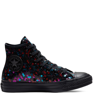 Converse Chuck Taylor All Star Holiday Scene Sequin High Top productafbeelding