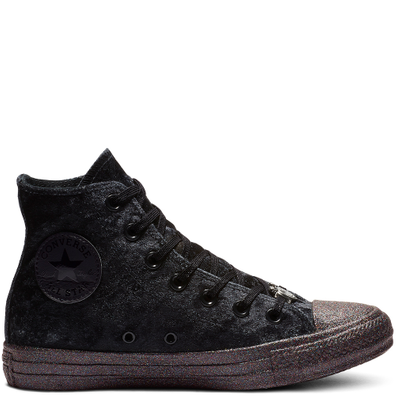 Converse x Miley Cyrus Chuck Taylor High Top Velvet productafbeelding