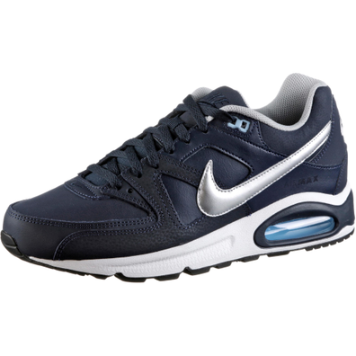 Nike Air Max Command Leather Blue Silver productafbeelding
