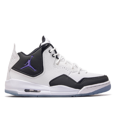 Jordan Courtside 23 White Black Purple productafbeelding