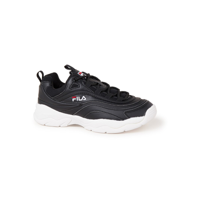 Fila Wmn Ray Low Black White productafbeelding