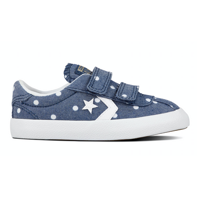 Ox Breakpoint Polka/Denim TS productafbeelding