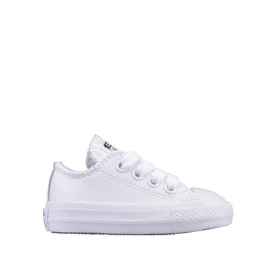 Ox Star Player White/White Leather TS productafbeelding