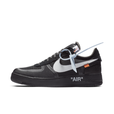 Off-White X Nike Air Force 1 Low 'Black' productafbeelding