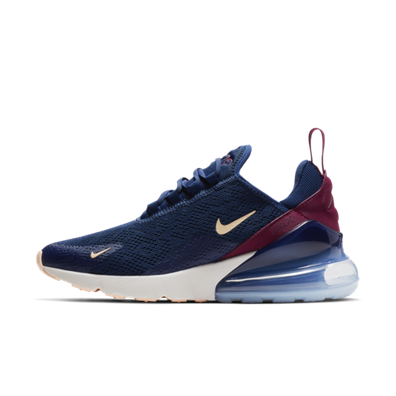 Nike WMNS Air Max 270 'Blue Void' productafbeelding