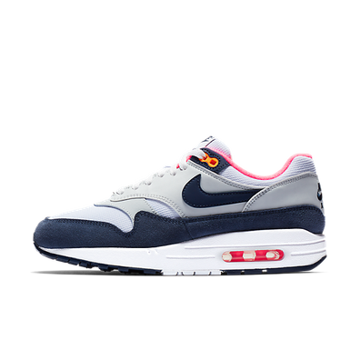 nike air max 1 grijs wit heren