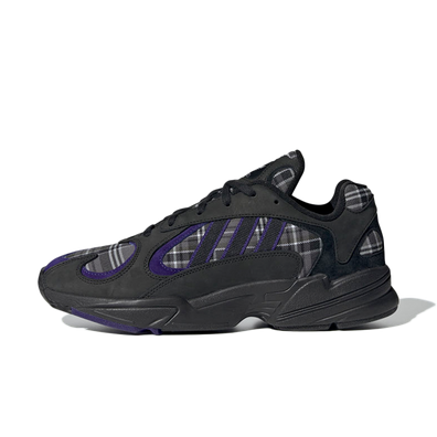 adidas Yung-1 Plaid 'Purple Black' productafbeelding