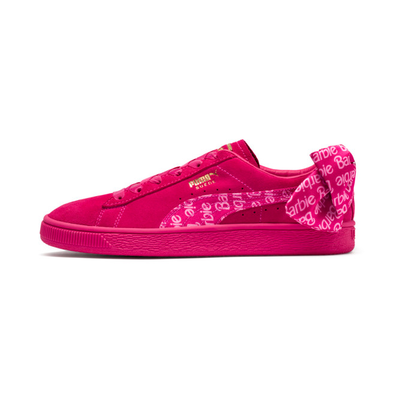Puma Puma X Barbie Suede Classic Sneakers %28With Doll%29 productafbeelding