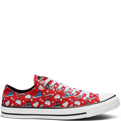 bb30ea96c8 Converse x Hello Kitty Chuck Taylor All Star Low Top