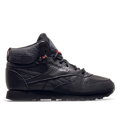 Reebok CL Mid TWD Black Red productafbeelding