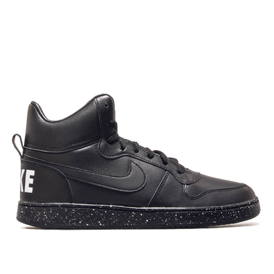 Nike Court Borough Mid Black productafbeelding