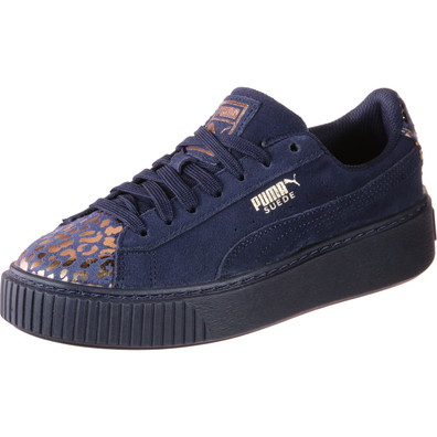 Puma Suede Platform Athluxe Girls Trainers productafbeelding