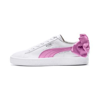 Puma Basket Bow Patent Kids Sneakers productafbeelding