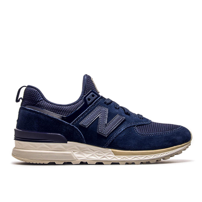 New Balance MS 574 FSL Navy Beige productafbeelding