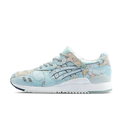 Asics x Atmos Gel-Lyte III 'World Map' productafbeelding
