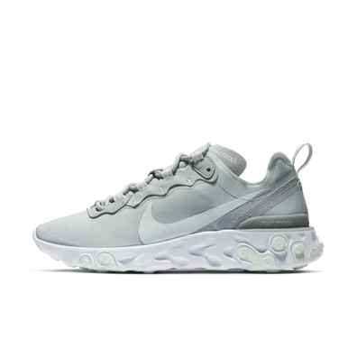 Nike WMNS React Element 55 'Wolf Grey' productafbeelding