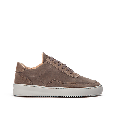 Filling Pieces Low Mondo Ripple Nardo Suede productafbeelding